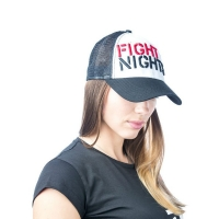Бейсболка Fight Nights с сеткой