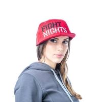 Бейсболка Fight Nights Лого New Era красная