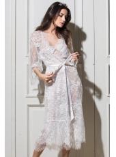 Кружевной длинный халат из коллекции Chanel (Mia-Mia)
