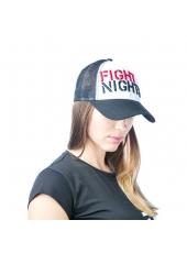 Бейсболка Fight Nights с сеткой