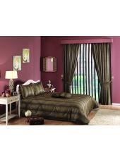 Комплект для спальни покрывало и шторы Cassandra