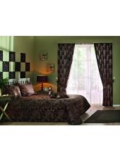 Комплект для спальни покрывало и шторы Sheridan khv V-2