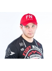 Бейсболка Fight Nights FN TEAM красная