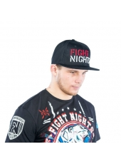 Бейсболка Fight Nights Лого New Era черная