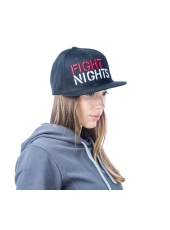Бейсболка Fight Nights Лого New Era черная